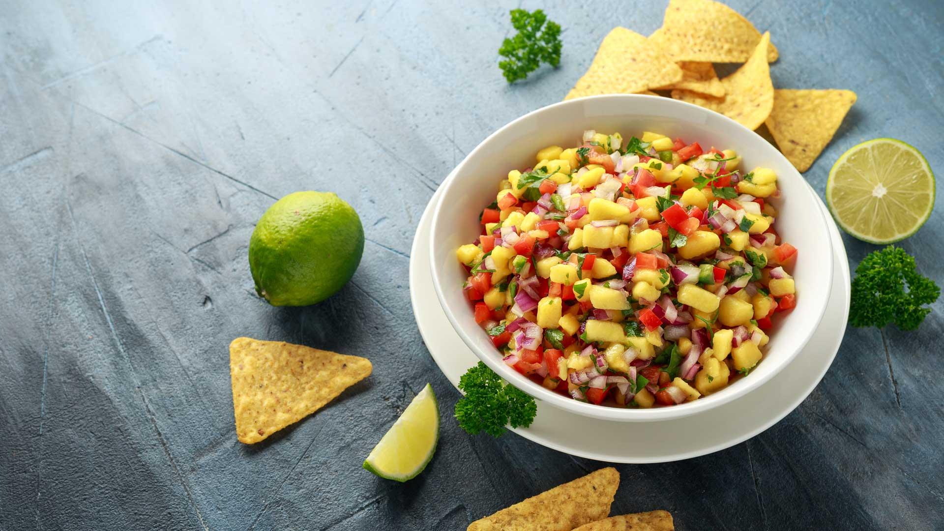 Recept voor salsa met mango