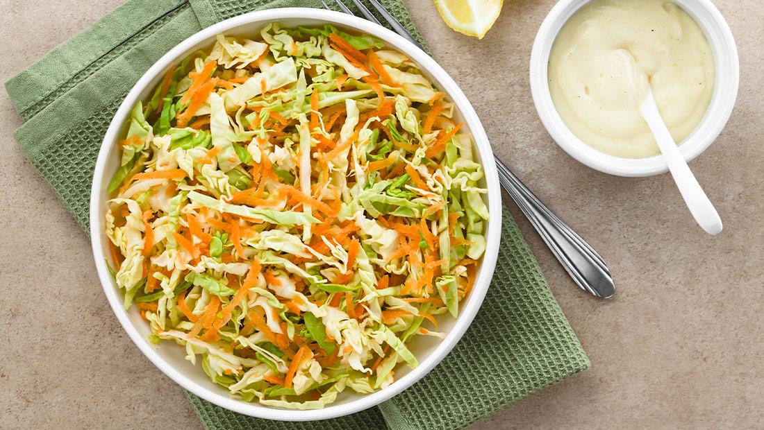 salade witte kool recept