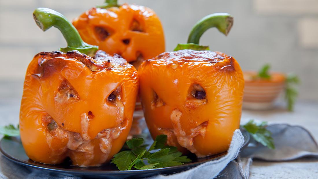 recept paprika's Halloween